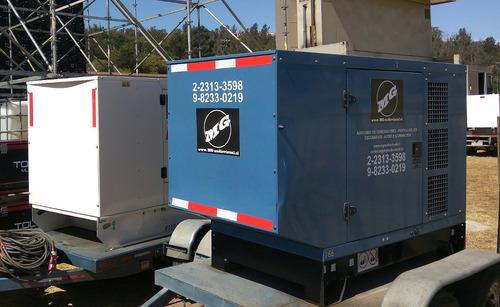 arriendo de generador 60 kva para eventos