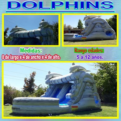arriendo de juegos inflables acuáticos y tradicionales.