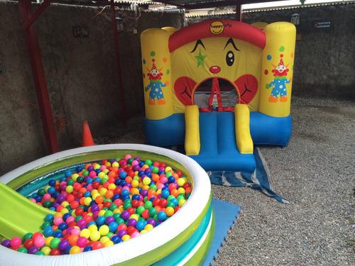 arriendo de juegos inflables ,baratos y sin costo de traslad