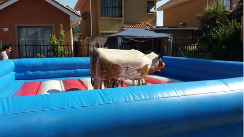 arriendo de juegos inflables y toro mecánico