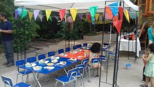 arriendo de sillas para cumpleaños infantiles