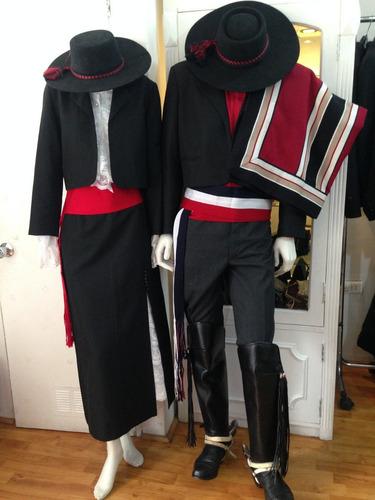 arriendo de trajes de huaso originales
