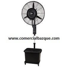 arriendo de ventiladores con nebulizador o con aguita