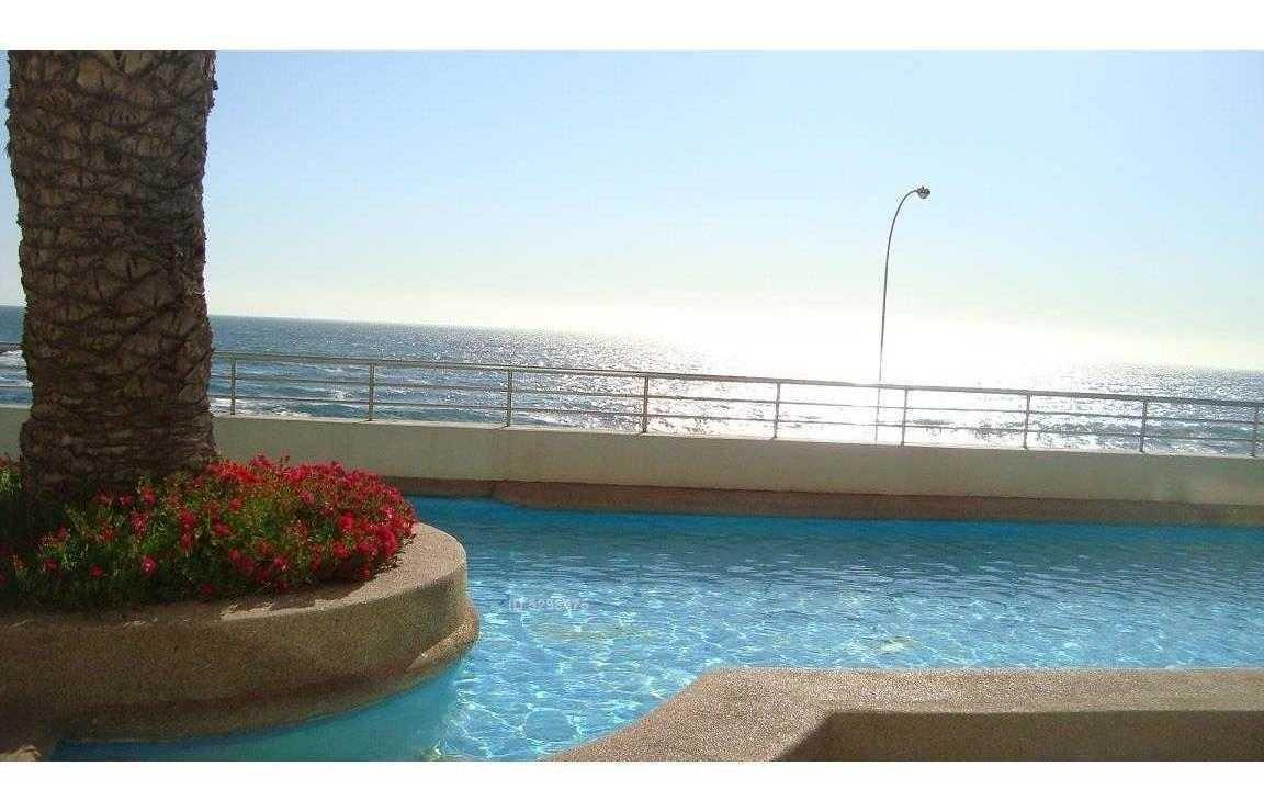 arriendo depto 3d 2b temporada, ave borgoño, frente mar playa cochoa, viña del mar