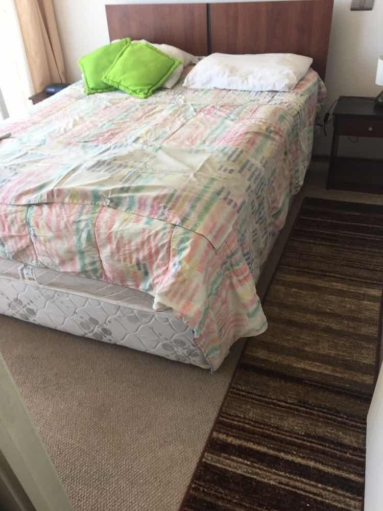 arriendo diario viña centro 1 dormitorio 4personas max