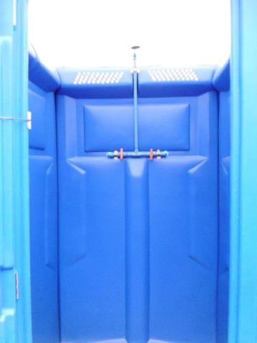 arriendo ducha química portátil