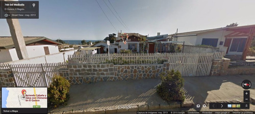 arriendo el quisco casa cn chimenea y cabaña 3 cuadras playa