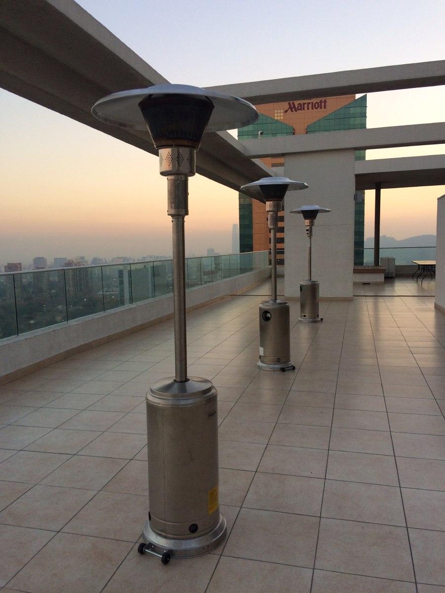 Arriendo estufas patio exterior para eventos for Estufas de exterior