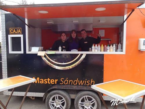 arriendo food truck (carro de comidas) para eventos