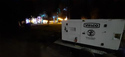 arriendo generador 20 kva.  por día, semana, meses.