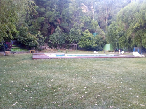 arriendo hermosa parcela con piscina lunes a viernes
