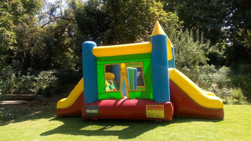 arriendo inflable 5x4mt