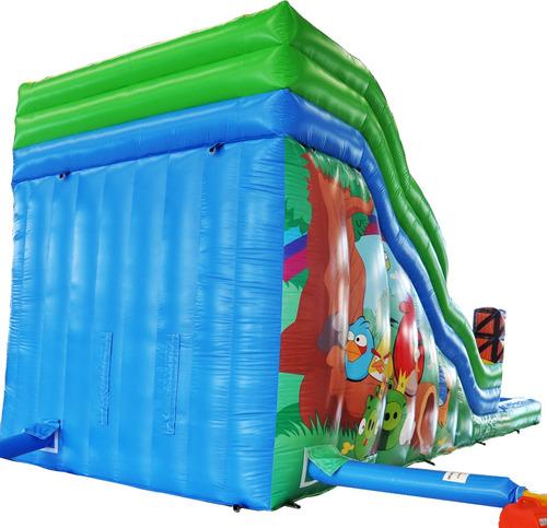 arriendo inflable tobogan acuatico premium