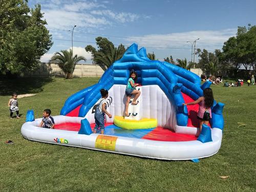 arriendo juego inflable acuático 30000