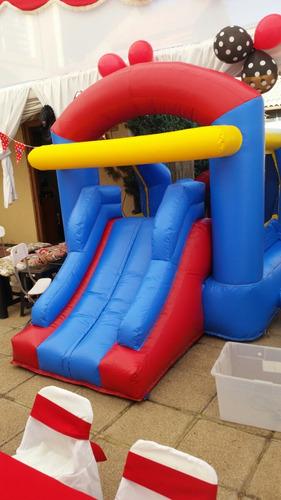 arriendo juego inflable sillas,mesas infantiles mariposita