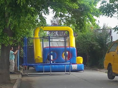 arriendo juego inflables,taca taca,cama elastica,maquinas
