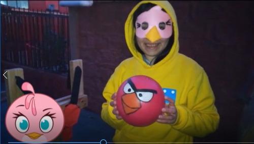 arriendo juego super angry birds cumpleaños eventos
