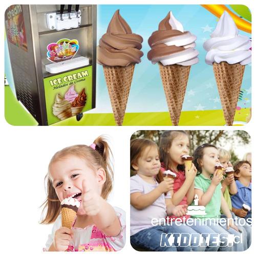 arriendo juegos infantiles - kiddies - arcade - helados