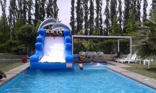 arriendo juegos inflables acuaticos
