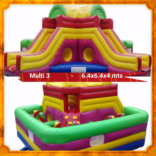 arriendo juegos inflables cama elastisca y mas (desde).