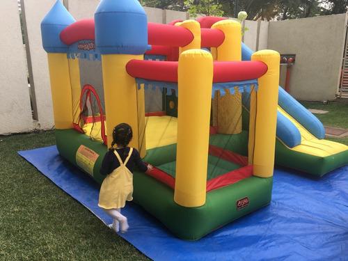 arriendo juegos inflables, plaza blanda y cama elastica