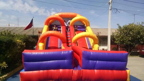 arriendo juegos inflables, toboganes, cama elastica.