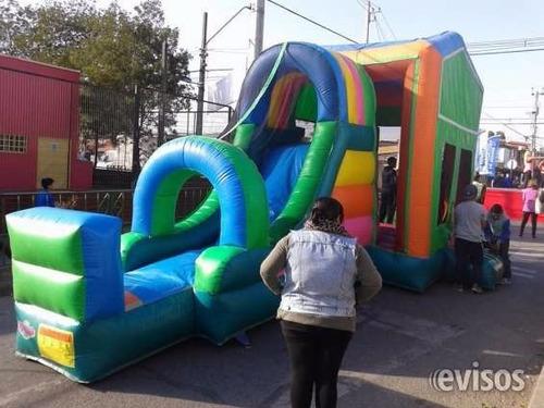 arriendo  juegos  inflables  y camas elasticas