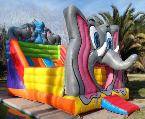 arriendo juegos inflables y camas elasticas , toro mecanico