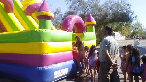 arriendo  juegos  y  toboganes  inflables  de  agua  y  trad