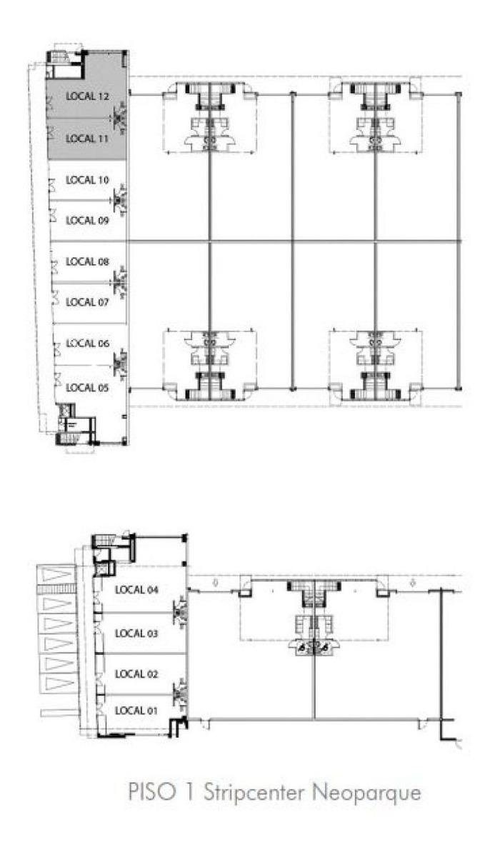 arriendo local comercial - retail neoparque, lampa - 93 m2