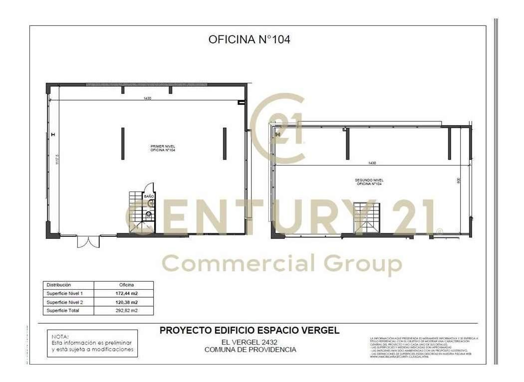 arriendo local comercial/oficina nueva  de 120,38 m2, en ...