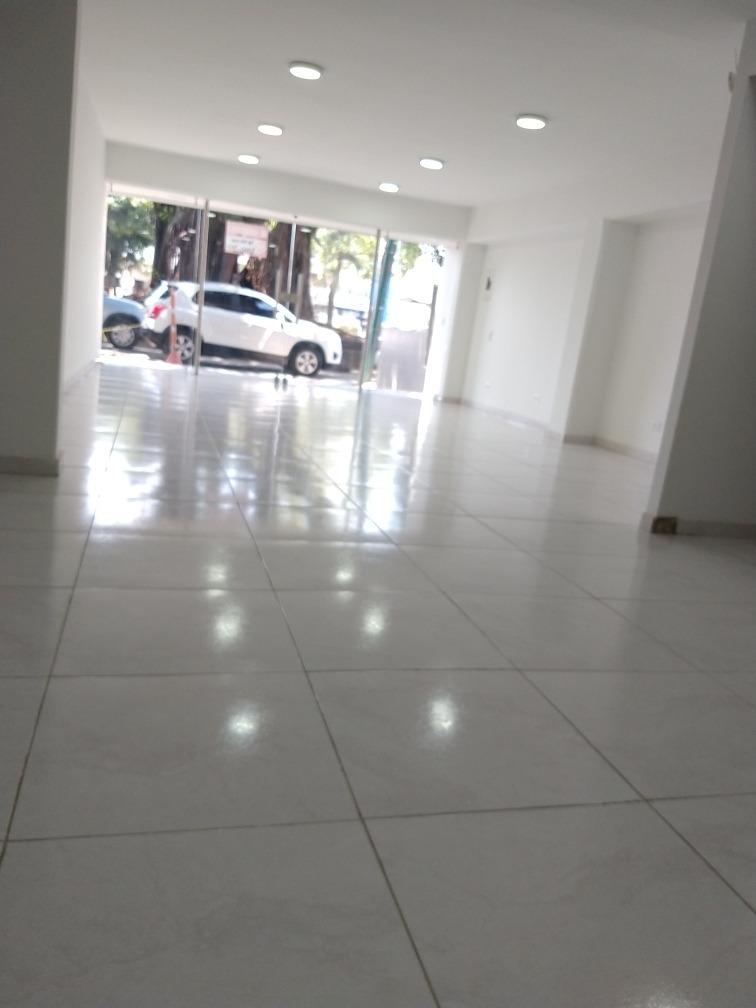 arriendo local nuevo sobre diagonal en ave roosvelt,1er piso
