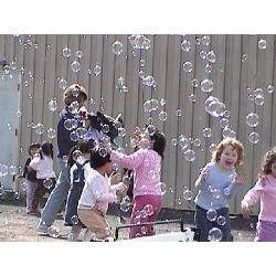 arriendo maquina de burbujas