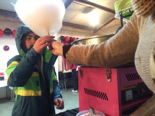 arriendo máquina de cabrita - algodones - carrito completos
