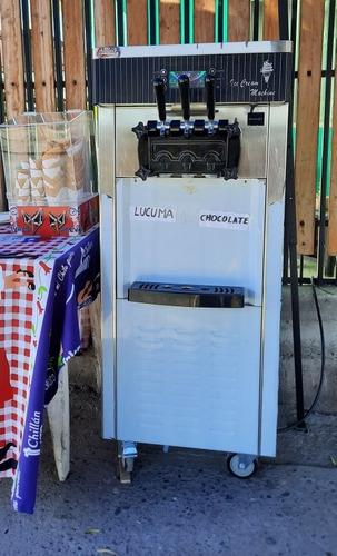 arriendo maquina de helados soft