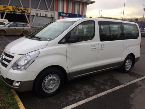 arriendo minibus hyundai h1 diesel 12 pasajeros