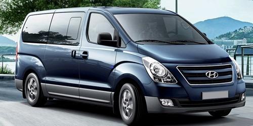 arriendo minibus y van hyundai h1 9 - 12 asientos sin chofer