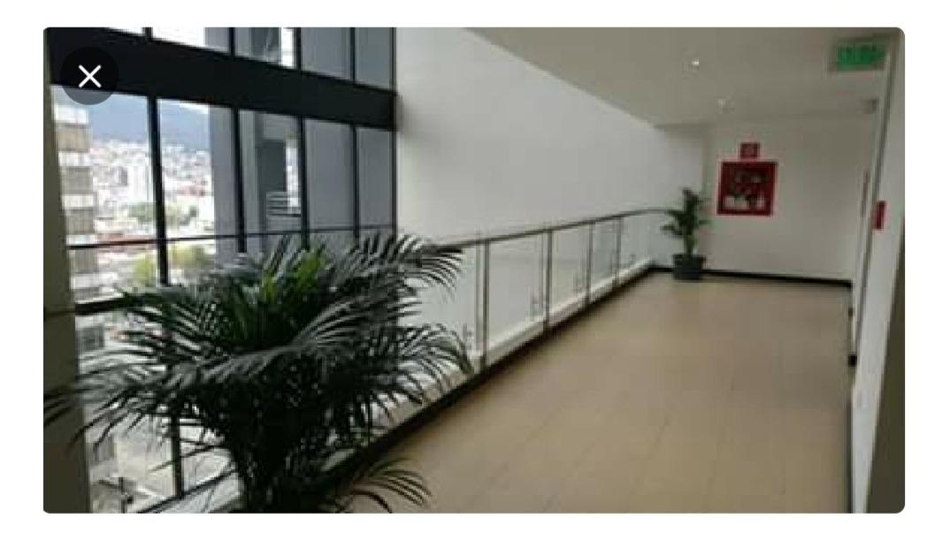 arriendo oficina de 50m2(7mo piso) en av. amazonas y colon