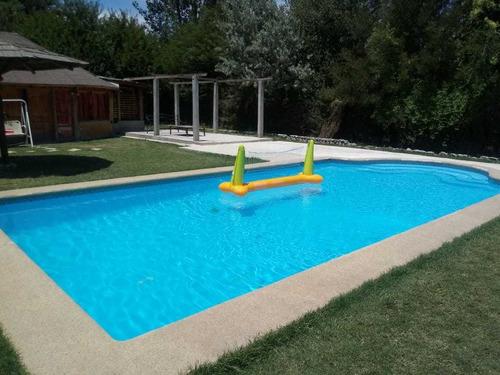 arriendo parcela con piscina pirque