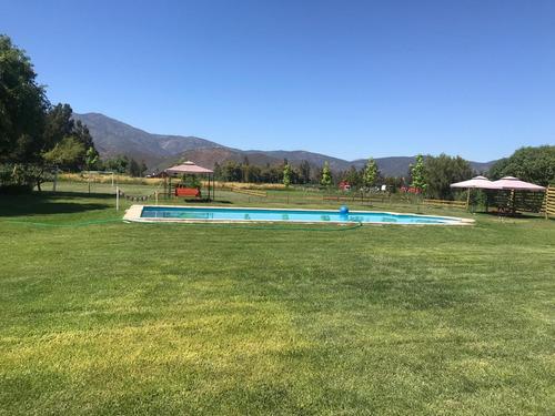 arriendo parcela con piscina talagante eventos