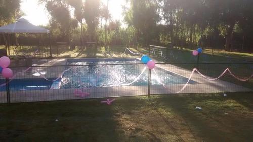 arriendo parcela piscina paseo eventos cumpleaños matrimonio