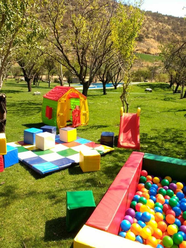 arriendo parcela y plaza de juegos para niños