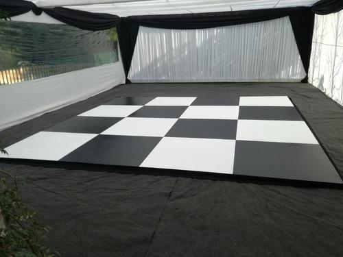 arriendo pista de baile,fabricacion vigas para carpas event