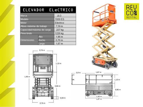 arriendo plataformas elevadoras / rental elevadores