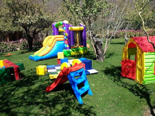 arriendo plaza de juegos, inflables, piscina pelotas