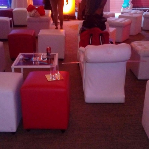 arriendo puff, mobiliario lounge.