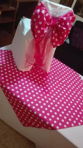 arriendo silla, mesas, manteleria para cumpleaños