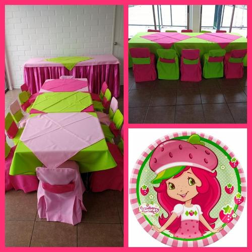 arriendo sillas y mesas infantiles para cumpleaños