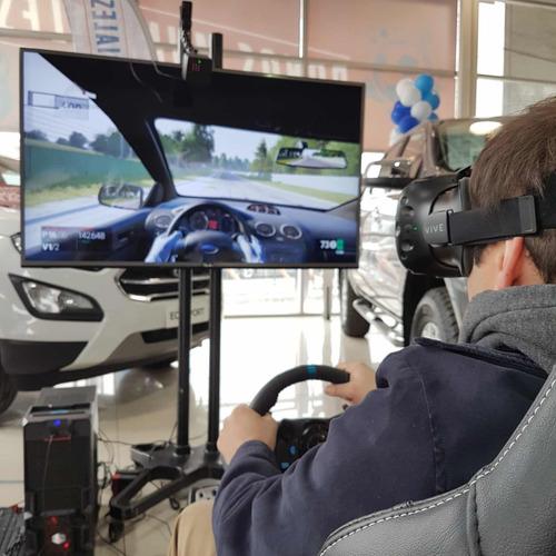 arriendo simulador de carreras para eventos / vr opcional