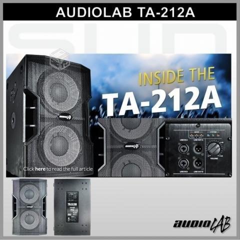 arriendo sub bajo audiolab ta 212a